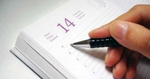 Consigue una agenda y mantén tus cosas por hacer escritas. (Imagen de: humanumtraining.com)