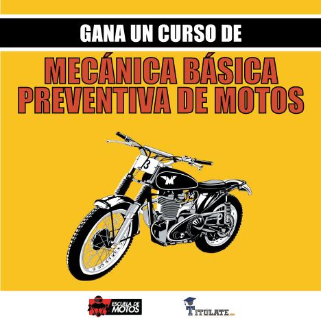 gana un curso de motos